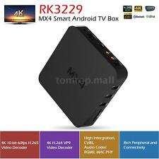 MX4 4K Kodi/XBMC Quad Core Android 5.1 Smart TV Box Media Player 1080P WiFi HEVC