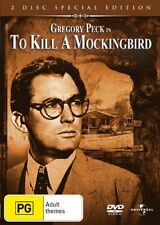 To Kill A Mockingbird -2 Disc special Edition*DVD**R4**Gregory Peck*Like New