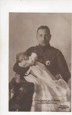 Prinz Joachim Von Preussen Mit Karl Franz Joseph Germany RP Postcard 147b