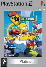 Los Simpsons Hit & Run Platinum Edition (Sony PlayStation 2)