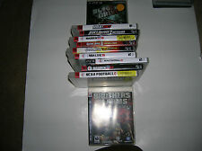 Playstation 3 Games Lot of 11   PS3  Bundle