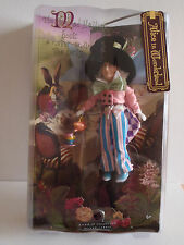 Barbie Collector Alice in Wonderland Mad Hatter Silver Label 2007 Doll Mint