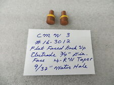 Flat Faced Back Up Style 4 RW Spot Welding Electrode Tips New ( 2 Pcs )