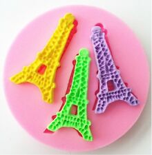 Eiffel Tower Paris mini Silicone Baking Mold - 3 Eiffel Cavities