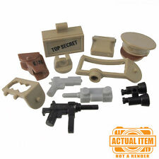 Brickforge US LT. COLONEL Accessory Pack for Lego Minifigures WW2 NEW