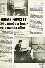 Coupure de presse 1978 (1 pages) Farrah Fawcett