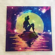 Disney Princess Canvas Picture Print 30x30cm - The little mermaid | Ariel