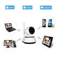 720P WiFi Wireless Pan Tilt CCTV Network Home-Security IP Camera IR Night Vision