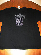 FAVORS bondage concert T shirt XL Long Live Nubiles OHIO Columbus Rock Slut 2004