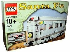 New Lego Train # 10022 Santa Fe Train Car Dining Car Rare 2002 Toy NEW Sealed