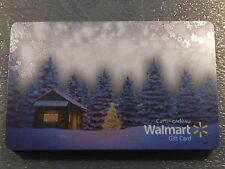Walmart Canada WINTER HOLIDAY CABIN collectible gift card (cash value) FR/ENG