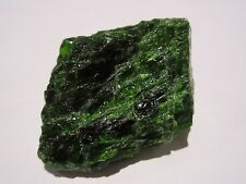 Chrome Diopside Natural Piece 'AA' Grade