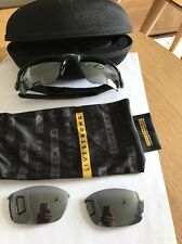 Oakley Flak Jacket Sunglasses With Spare Lens + Hard Case Rrp £160