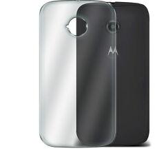 Ultra Thin Clear TPU Gel Skin Case Cover & LCD Film For Motorola Moto E 2nd Gen