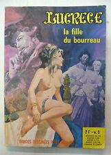 lucrece 3 la fille du bourreau  elvifrance 1972