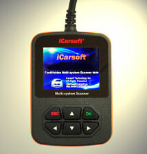 iCarsoft Tiefen Diagnose OBD Scanner ABS, Airbag,Motor passend für Ford Escape
