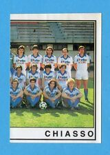 SVIZZERA -FOOTBALL 82 -PANINI -Figurina n.94- SQUADRA DX - CHIASSO -Rec