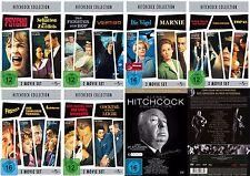 27 Classic ALFRED HITCHCOCK Marnie PSYCHO Vertigo DVD Collezione EDITION NUOVO