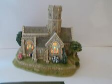 LILLIPUT LANE LEAD KINDLY LIGHT ILLUMINATED CHURCH  BARRINGTON  L2578 2002