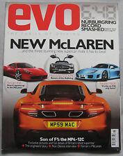 EVO 11/2009 featuring McLaren MP4-12C, Ferrari, Noble, AMG Mercedes, Lotus