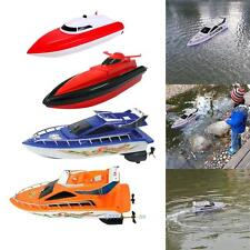 Kids Remote Control RC Super Mini Speed Boat High Performance Boat Toy LS4G