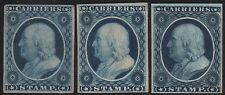#LO1P3 & (2) #LO1P4 PLATE PROOFS ON INDIA & CARD CV $110 BR7660