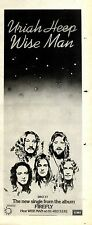 23/4/1977Pg37 Single Advert 15x5 Uriah Heep wise Men