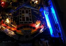 Twilight Zone Pinball Interactivo Shooter Lane Luz Mod Azul