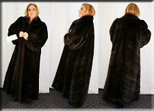 New Directional Ranch Mink Fur Coat - Size 2 Extra Large 18 20 2XL - Efurs4less