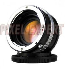 ANELLO ADATTATORE PIXCO NIKON G SONY NEX SPEED BOOSTER ADAPTER RING NO METABONES