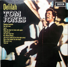 TOM JONES DELILAH LP Decca mono original LK 4946 1968 Excellent
