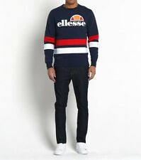 Ellesse Men's Sweatshirt - Puccini - XL -  Navy Red White - RRP £55 - SALE