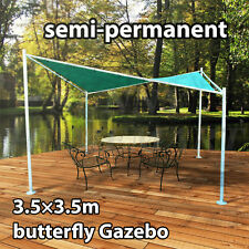 NEW 3.5m x 3.5m Butterfly Gazebo Party Tent MARQUEE Outdoor Pavlion Canopy