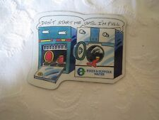 Essex Suffolk Water fridge magnet, Water saving magnet