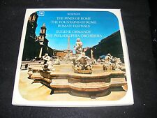 Clean Columbia Classical Box EUGENE ORMANDY Respighi Pines of Rome LP w Booklet