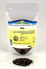 BLACK CHIA MICROGREEN SEEDS - INDOOR GARDEN - GROW MICRO GREENS -  PET REFILLS