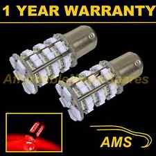 2X 380 BAY15D 1157 XENON RED 48 SMD LED STOP TAIL BRAKE LIGHT BULBS ST202101