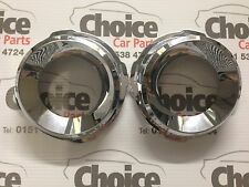 Genuine Vauxhall Astra VXR H Fog Lamp Chrome Rings 93186621