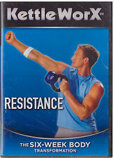 KETTLE WORX RESISTANCE ( DVD, 2008) NEW
