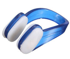 New Soft Silicone Waterproof Swim Earplug Swimming Diving Clip+Ear Plug Blue