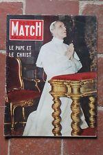 Paris Match N° 347 1955  Pape  Guitry Utrillo Lollobrigida clown