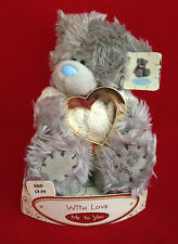 "ME TO YOU BEAR TATTY TEDDY 6"" CREAM JUMPER & GOLD HEART BEAR GIFT"