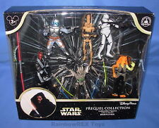 Star Wars 2015 PREQUEL COLLECTION Set of 6 Figures Disney Parks Exclusive MIB