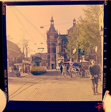 Amsterdam Tram Leidseplein Square Holland 60s Photograph Colour Negative Slide