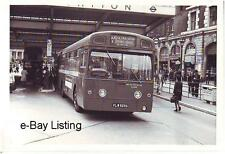 LONDON TRANSPORT AEC MERLIN MBS525 AT VICTORIA MAIN LINE STATION 1976
