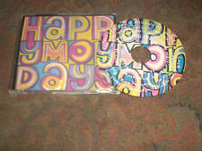 HAPPY MONDAYS WROTE FOR LUCK USED 1988 PICTURE DISC CD SINGLE.