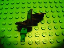 NEW LEGO SPORTS SOCCER MINI FIGURE STAND BLACK WITH GREEN PIN