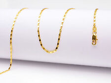 1PCS Wholesale 30inch 18K Yellow GOLD Filled Smooth CHAIN NECKLACES For Pendant