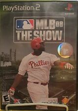 MLB 08 The Show (PS2 Playstation 2) Complete with Manual
