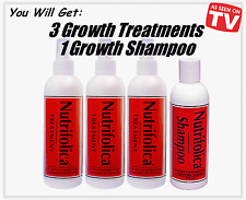 NUTRIFOLICA REGROWTH TREATMENT+SHAMPOO STOP HAIR LOSS BALDNESS grow growth DHT